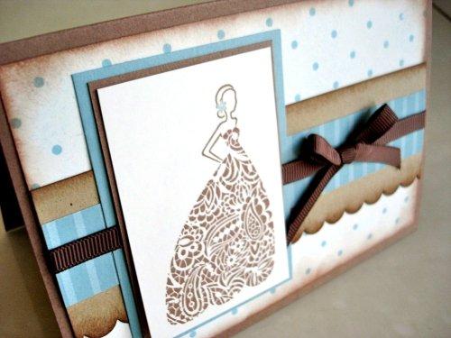 Stamp-a-Stack Bride