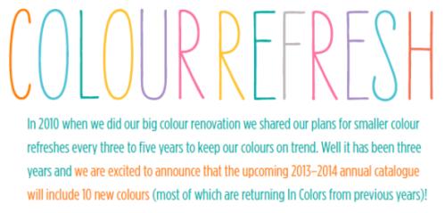 Color Refress Header